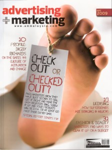 Advertising and Marketing Malaysia May 2009 Cover