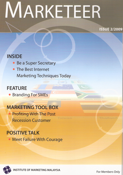 Marketer Magazine by Institute of Marketing Malaysia
