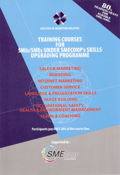 Institute of Marketing Malaysia SME Grant Approved Training Booklet